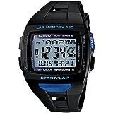 [カシオ] 腕時計 フィズ LAP MEMORY 120 電波ソーラー STW10001BJF ブラック