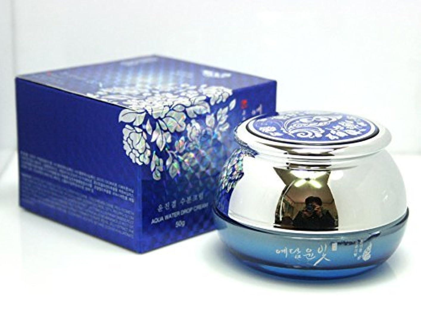 中国熱摩擦[YEDAM YUN BIT] Yunjin Gyeolアクアウォータードロップクリーム50g / オリエンタルハーブ / 韓国化粧品 / Yunjin Gyeol Aqua Water Drop Cream 50g / Oriental Herb / Korean Cosmetics [並行輸入品]