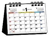 2016年 シンプル卓上カレンダー(A6ヨコ) ([カレンダー])