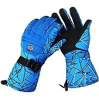 huntvp防水メンズスキーグローブ、通気性防風暖かいスキースノーボード手袋、冬Cold Weatherグローブ
