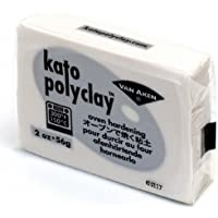 katopolyclay オーブン粘土 2オンス(56g) パール