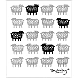 北欧スウェーデン/ BENGT&LOTTAベングト&ロッタ|スポンジワイプ 迷子のヒツジ / 布巾・キッチンワイプ