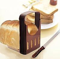 Toast Bread SlicerトーストBakingツールブラウン色