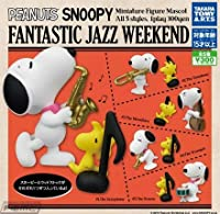 SNOOPY スヌーピー FANTASTIC JAZZ WEEKEND [全5種セット(フルコンプ)]