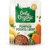 Only Organic Pumpkin Potato & Beef  8+ Months - 170g