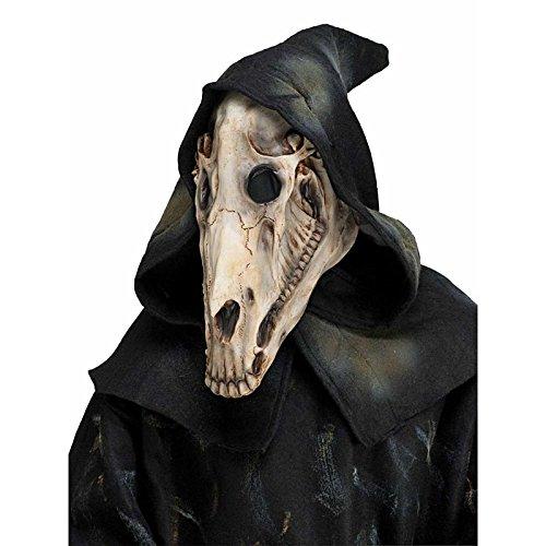 馬 骸骨 マスク コスプレ 仮装 ハロウィン ホース スカル...