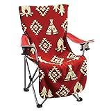 SPICE OF LIFE 椅子カバー ボアチェアカバー FESTA HOME レッド 52×125cm アウトドアチェア SFFQ1803RD