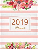2019 Planner: Weekly And Monthly Calendar Schedule for woman make wonderful day (Weekly and monthly planner) [並行輸入品]
