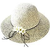 帽子 レディース 夏 おしゃれ トレンド ファッション エレガント UVカット 帽子 ハット 漁師帽 ワイルド 帽子 レディース 大きいサイズ 森ガール 蝶結び 無地 ビーチ 海辺 かわいい ROSE ROMAN