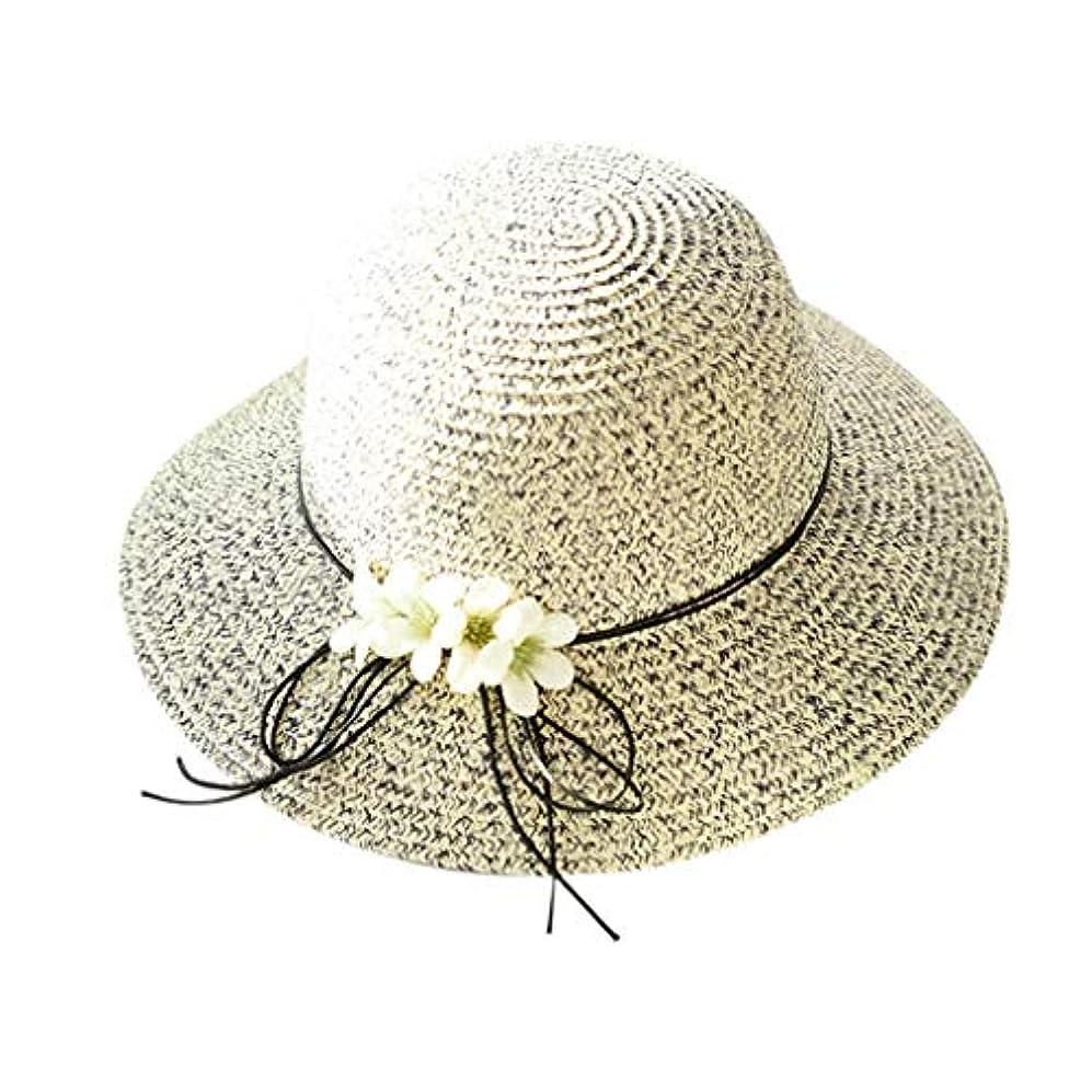 北西無意味濃度帽子 レディース 夏 おしゃれ トレンド ファッション エレガント UVカット 帽子 ハット 漁師帽 ワイルド 帽子 レディース 大きいサイズ 森ガール 蝶結び 無地 ビーチ 海辺 かわいい ROSE ROMAN