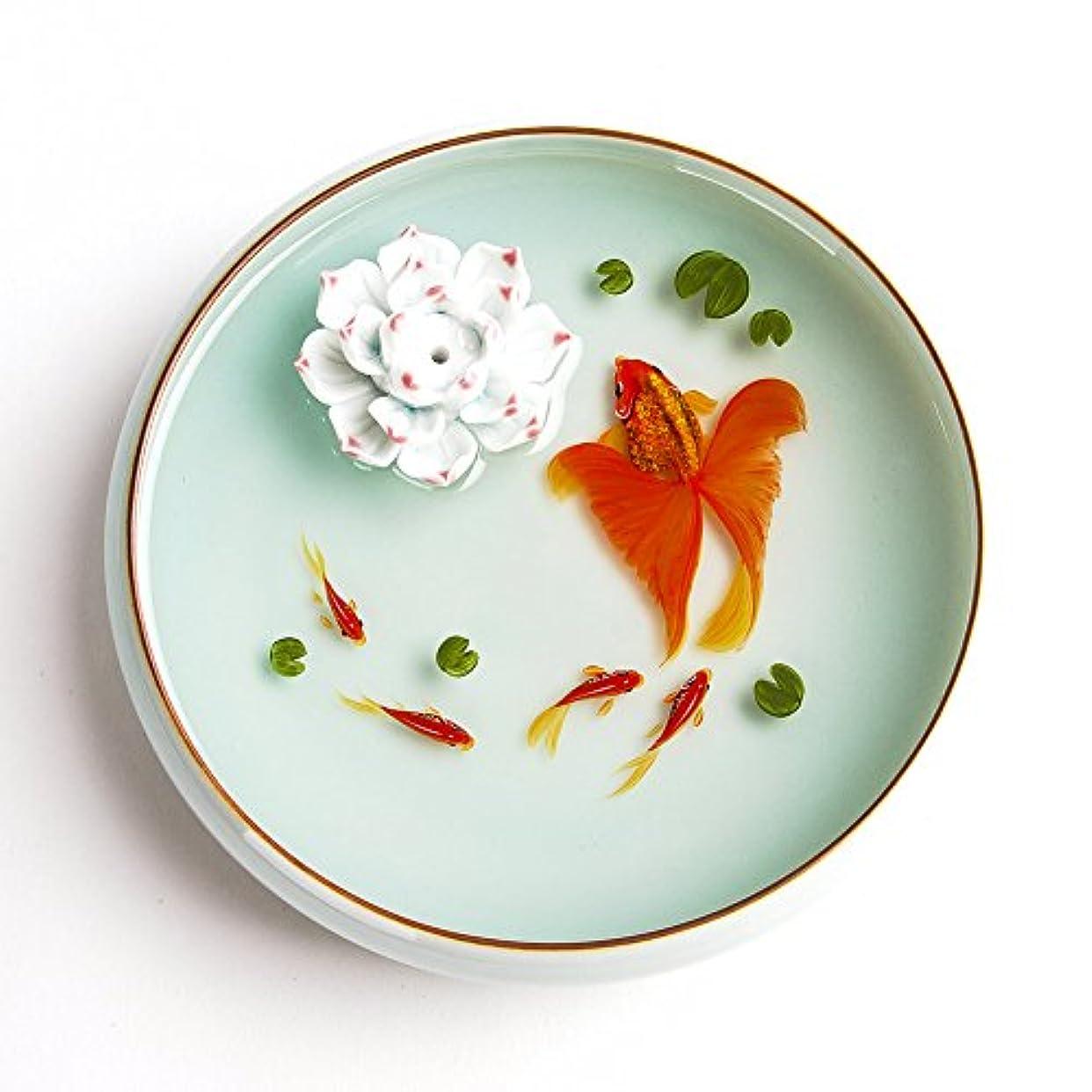 ロンドン寄付マウスお香立て お香たて 香の器 お香を焚いて 香皿,陶磁器、白