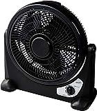 【Amazon.co.jp 限定】25cmサーキュレーター(ルーバー付き) パワフル送風(強・中・弱) 360度自動回転ルーバー 風向き6段階調整 空気循環 軽量 取手付き ルーバーファン 静音 1年保証