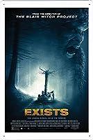 映画の金属看板 ティンサイン ポスター / Tin Sign Metal Poster of Movie Exists