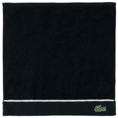 ラコステ(LACOSTE) 【30色選べる】【累計売上げ200万点突破】タオルハンカチ【ブラック/1サイズ】