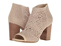 Jessica Simpson(ジェシカシンプソン) レディース 女性用 シューズ 靴 ヒール アンクル Rianne - Vanilla Cream Stretch Crochet 10 M [並行輸入品]