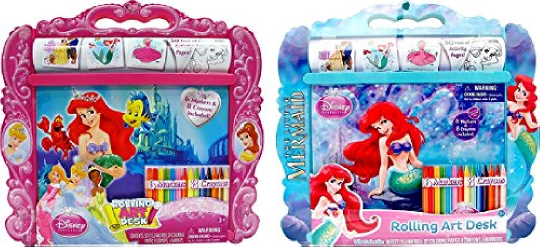Disney Princess The Little Mermaid Rolling Art Desk by Tara Toys [並行輸入品]