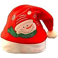 comvip子供大人Chriatmasコスチュームパーティーサンタクロース帽子キャップ雪だるま
