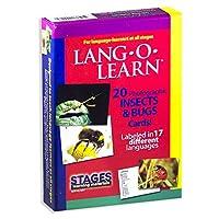 Stages LearningマテリアルVocabularyフォトカードFlashcardsの英語、スペイン語、フランス語、ドイツ語、イタリア語、中国& More SLM-LL-006