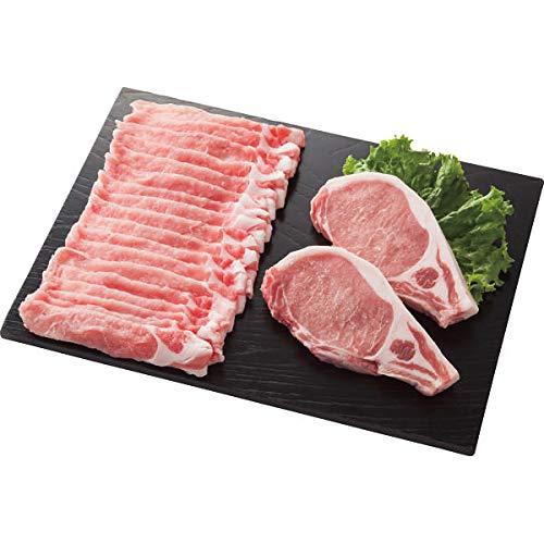 庄内SPF豚 ロースステーキ&しゃぶしゃぶ用セット お中元お歳暮ギフト贈答品プレゼントにも人気