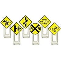 Lionel Yellow Railroad Signs [並行輸入品]