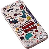 iPhone 7 plus ケース/iPhone 8 plus ケース,【MCG&ニコニコにゃん】おしゃれ ソフト TPU シリコン ケース[ 超軽量 衝撃吸収 落下防止 保護 ] iPhone 7 plus/iphone 8 plusケース5.5インチスマホカバー(パターン-5)