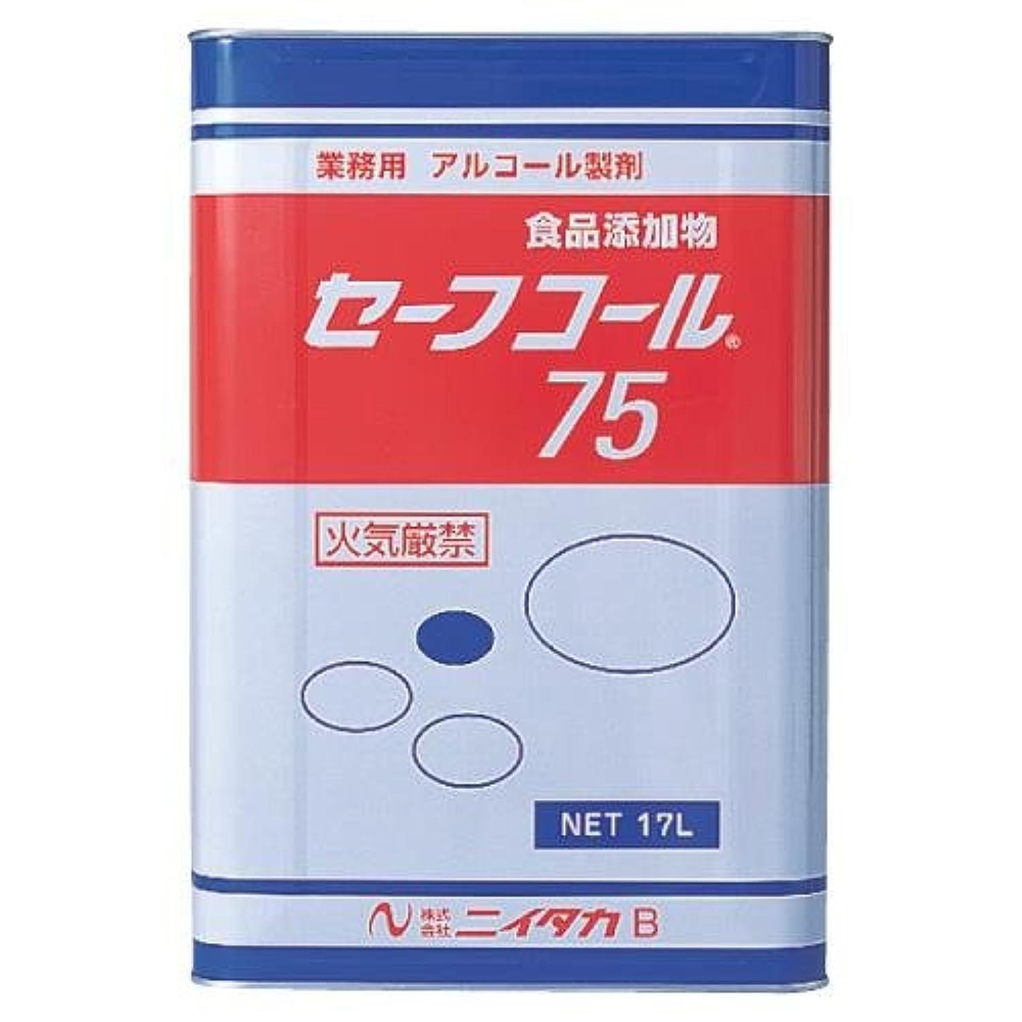 細心の添加剤メナジェリーニイタカ:セーフコール75(F-3) 17L 270201
