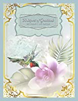 Whispers of Gratitude - 26 Weeks in the Positive: Ruby Throated Hummingbird - Guided Journal - Helps You Keep a Daily Written Record of Gratitude, Gains, and Quiet Times - by Jottn' Journals