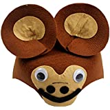 HuaQingPiJu-JP 子供の日のパフォーマンスファッションアクセサリー漫画動物帽子(猿)