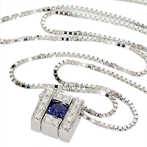 (ダミアーニ)DAMIANI ベルエポック サファイヤ ダイヤ ネックレス K18WG
