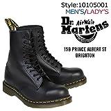 ドクターマーチン 1919 10ホール ブーツ ユニセックス UK4(約22.5~23.0cm) BLACK (並行輸入品)