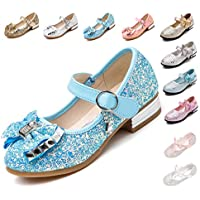 Kikiz Little Girl's Adorable Sparkle Mary Jane Princess Party Dress Shoes