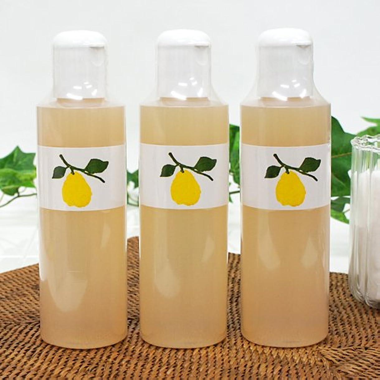 減るまつげボタン花梨の化粧水 200ml 3本セット