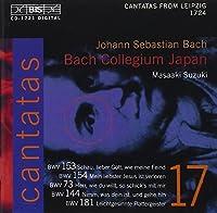 Bach: Cantatas, Vol 17 (BWV 153, 154, 73, 144, 181) /Bach Collegium Japan ・ Suzuki by Johann Sebastian Bach (2002-02-05)