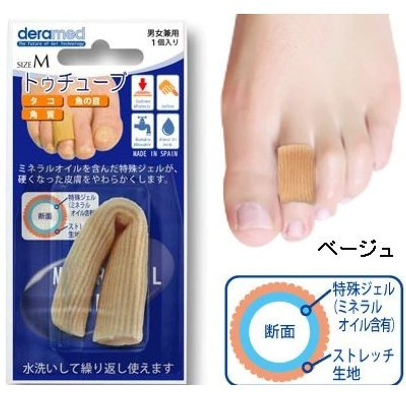 医薬品合併小道具deramed(デラメド)トゥチューブ (S)