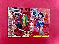 ワンピース クリアカードコレクションガム ルフィ 2枚セット 劇場版 STAMPEDE スタンピード 映画