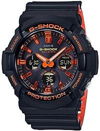 [カシオ]CASIO 腕時計 G-SHOCK ジーショック ブライトオレンジカラー GAW-100BR-1AJF メンズ