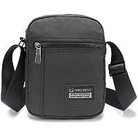 Big on Sale Small Messenger Bag for Men Women Work Travel Hiking, Casual Crossbody Shoulder Bag for 11.6-Inch Laptop iPad Organizer