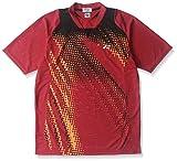 (ヨネックス)YONEX UNI ポロシャツ(スタンダードサイズ) 12114 688 クリスタルレッド S