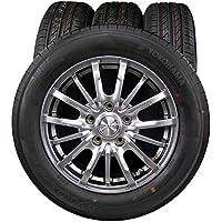 15インチ 4本セット タイヤ&ホイール YOKOHAMA (ヨコハマ) BluEarth (ブルーアース) E50 185/65R15 LEBEN (レーベン) DS5 15×6J(+45) PCD114.3-5穴