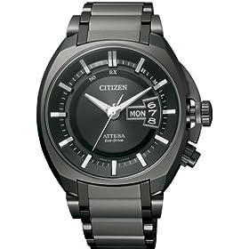 CITIZEN (シチズン) ATTESA アテッサ Eco-Drive 電波時計 デイ&デイト ATD53-3002 メンズ