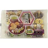 丸京製菓 味の銘作 18個×4袋