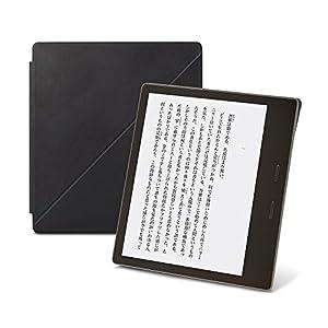 Amazon Kindle Oasis (Newモデル)用レザーカバー ミッドナイト