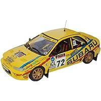 トロフュー 1/43 スバル インプレッサ RAC 1995 #72 完成品