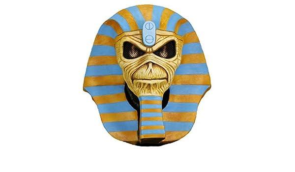 Powerslave 30th Anniversary Latex Eddie Mask #NEW NECA IRON MAIDEN