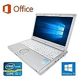【Microsoft Office 2016搭載】【Win 10搭載】Panasonic CF-SX2/第三世代Core i5 2.5GHz/大容量メモリー8GB/新品SSD:240GB/DVDスーパーマルチ/12インチワイド液晶/無線搭載/HDMI/USB3.0/中古ノートパソコン (新品SSD:240GB)