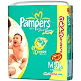 パンパース さらさら コットンケア テープ M 90枚×3(270枚)