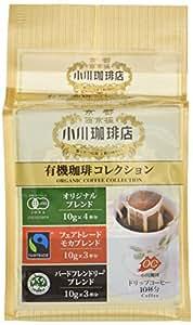 小川珈琲店 有機珈琲コレクション ドリップコーヒー 10杯分