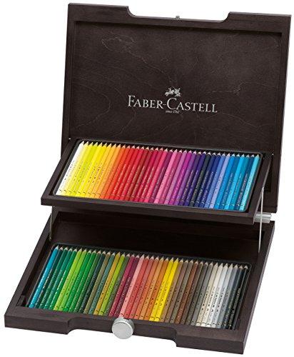 ファーバーカステル ポリクロモス色鉛筆 72色セット 木箱入