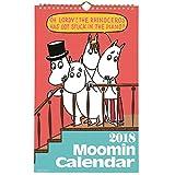 学研ステイフル ムーミン 2018年 カレンダー 壁掛け 原画 DM10061