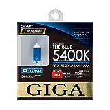 カーメイト 車用 ハロゲン GIGA ザ・ブルー H7 5400K ブルー BD728